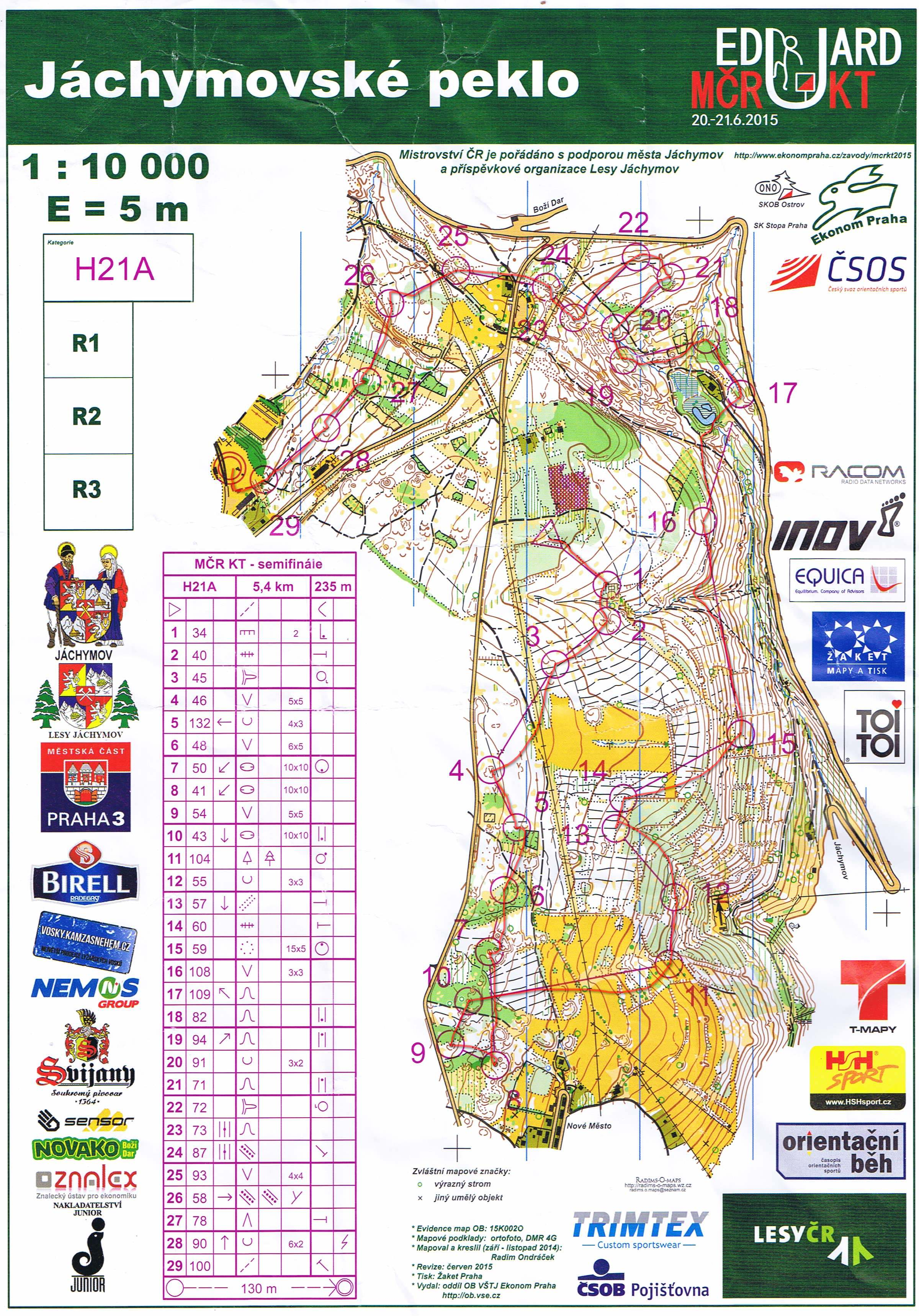 Czech Middle Champs - qualification (20/06/2015)
