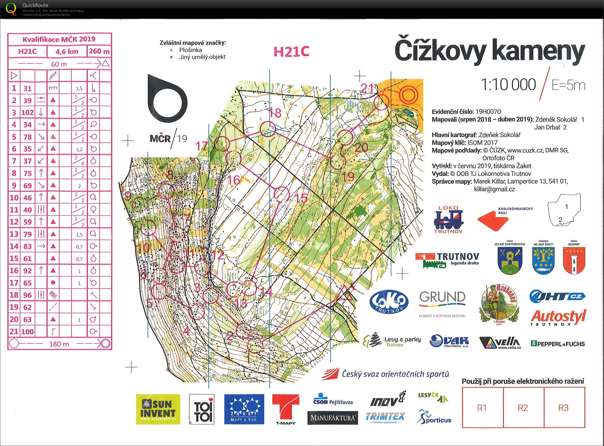 Czech Middle Champs - qual (22/06/2019)